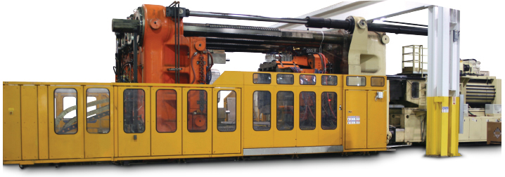 Cincinnati Process injection mold machine